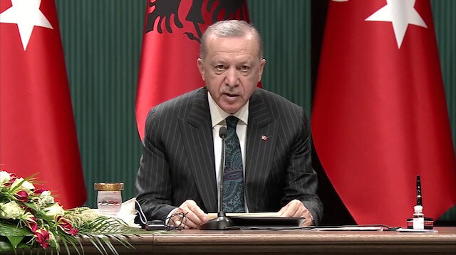 Cumhurbaşkanı Erdoğan: Arnavutluk'taki en büyük dış yatırımcı konumundayız