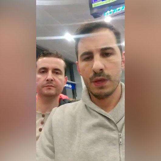 'Bizi Türkiye'ye gönderecekler' videosu çeken FETÖ'nün Erbil ve Bağdat sorumluları Kiev'de paketlendi
