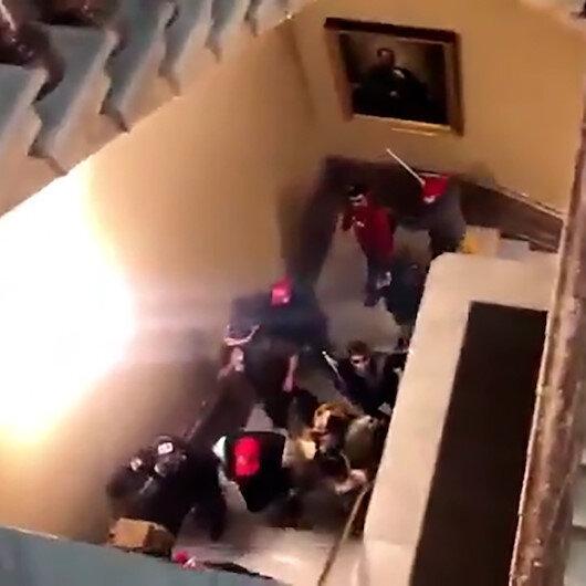 ABDde seçim kaosu: Trump taraftarları kongre binasını bastı