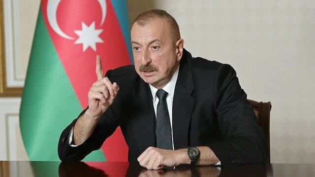 Aliyev: Ermenistan ihlallerini sürdürürse demir yumruğumuzu indiririz