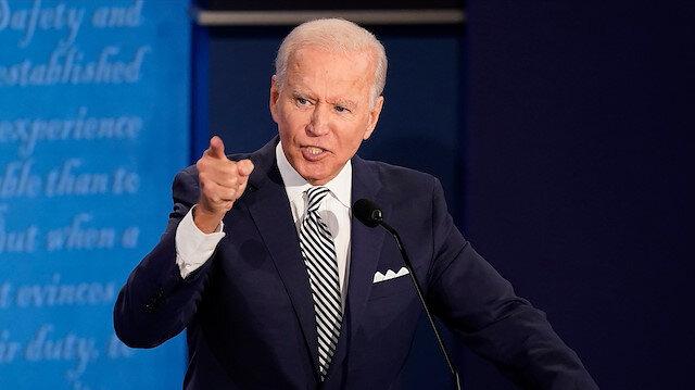 Joe Biden: Onlar protestocu değil teröristti