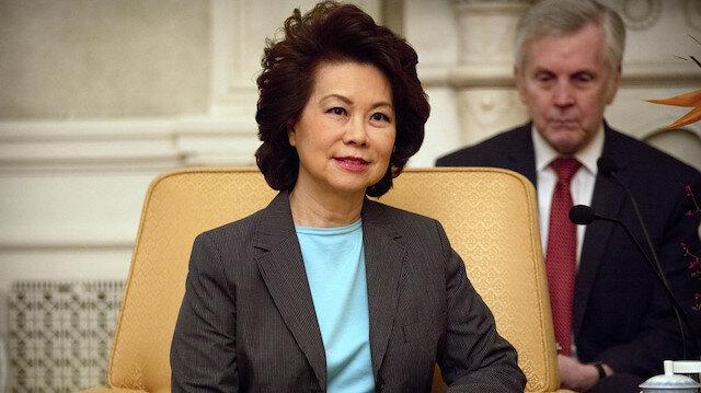 ABD'deki Kongre baskınının ardından kabinedeki ilk istifa: Ulaştırma Bakanı Chao görevi bıraktı