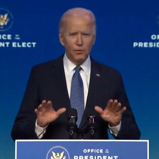 Joe Biden Kongre binasını basanlara ateş püskürdü: Onlar isyankar ayak takımı, terör estiren isyancılardı