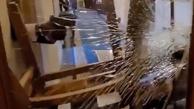 ABD Kongre binasına giren Trump yanlısı göstericinin vurulma anı kamerada