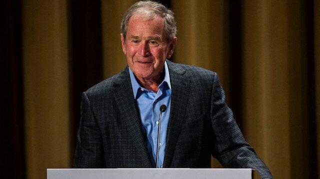 ABD'deki olaylarla ilgili eski başkan Bush'tan açıklama: Böyle şeyler muz cumhuriyetinde olur