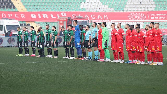 Denizlispor'da yabancı futbolcular kazan kaldırdı