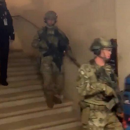 FBI kuvvetleri ABD Kongresine operasyon düzenledi