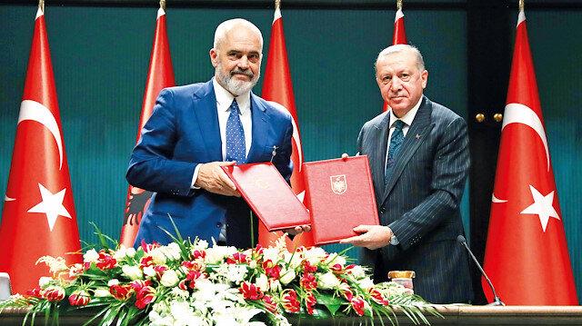 Arnavutluk stratejik ortak