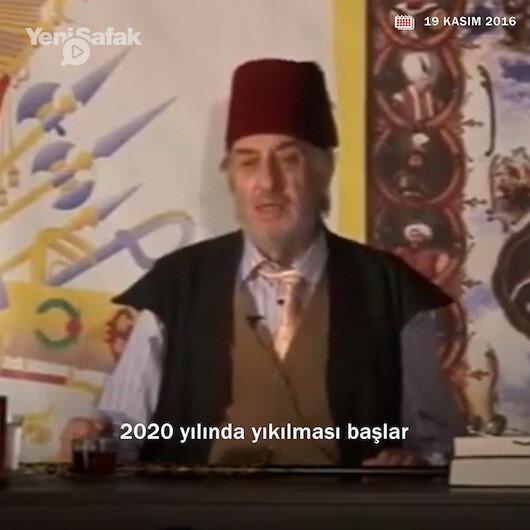 Mısıroğlunun 2016daki konuşması gündemde: ABDnin yıkılması 2020de başlayacak
