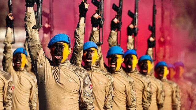 Uzman erbaşlardan nefes kesen yemin töreni: Bu kış PKK'nın son kışı olacak