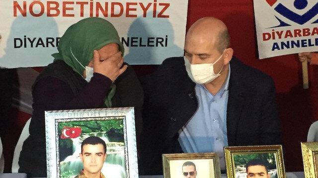 Evlat nöbetindeki anneden Demirtaş'ın annesine: Madem sen de annesin neden Nurettin Demirtaş'ı PKK'dan istemiyorsun?