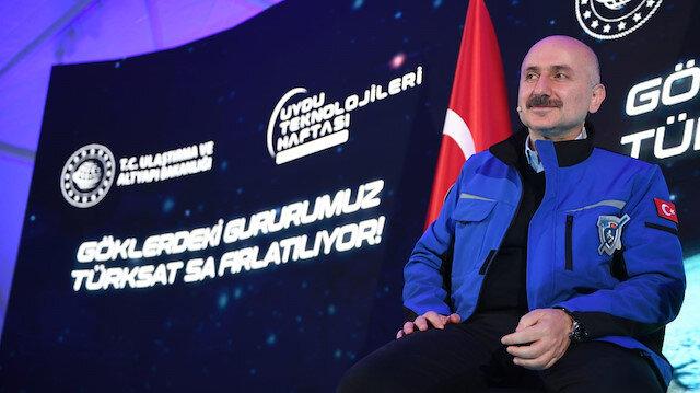 Türksat 5A uydusu fırlatıldı: Bakan Karaismailoğlu tarihi anları böyle takip etti