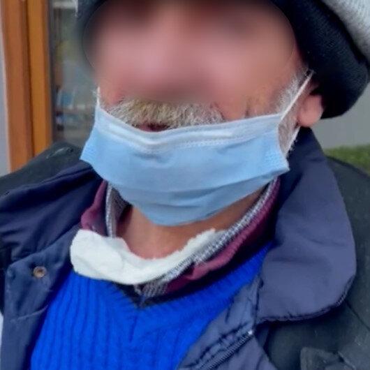 Eyüpsultanda zabıta ekiplerinin yakaladığı mendil satıcısının üzerinden uyuşturucu çıktı