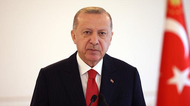 Cumhurbaşkanı Erdoğan: Teröristlerin eylemlerinin fikir özgürlüğü ile ilgisi yok