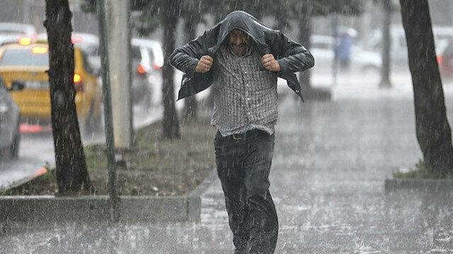 Meteoroloji altı il için uyardı: Kuvvetli yağış bekleniyor