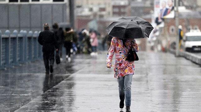 İstanbul'da beş günlük yağışlı dönem başlıyor