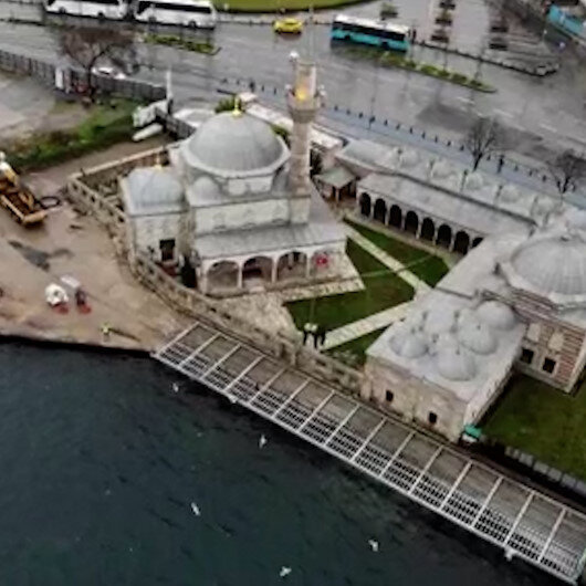 Mimar Sinanın 440 yıllık eserine İBBden tepki çeken çalışma