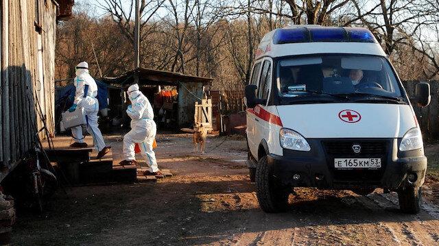 Rusya'ya da sıçradı: Kovid-19'un daha hızlı bulaşan türüne rastlandı