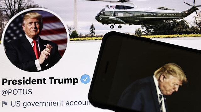 Sosyal medya hesapları askıya alınan Trump intikam peşinde