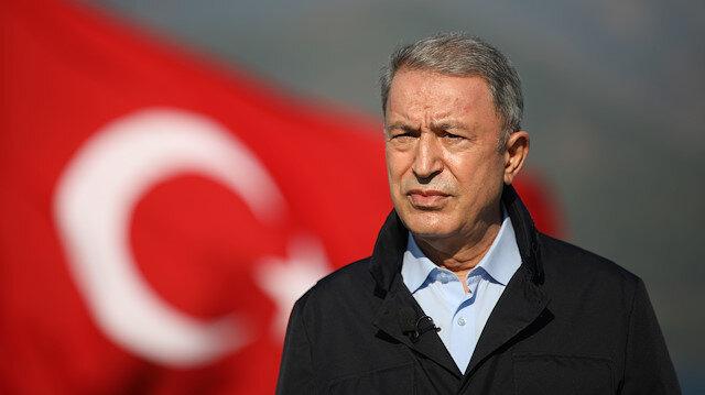 Bakan Akar'dan 'sözde Cumhurbaşkanı' sözüne tepki: TSK Başkomutanlık makamına saygısızlık yapılmıştır