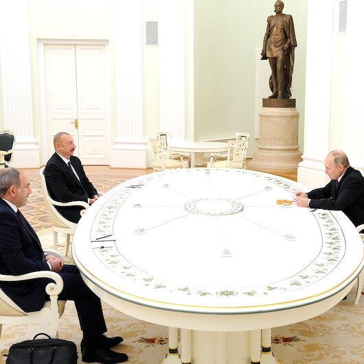 Moskovada Dağlık Karabağ görüşmesi başladı