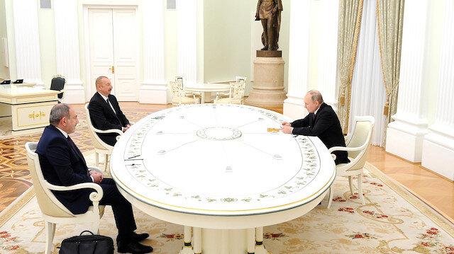 Moskova'da Dağlık Karabağ görüşmesi başladı