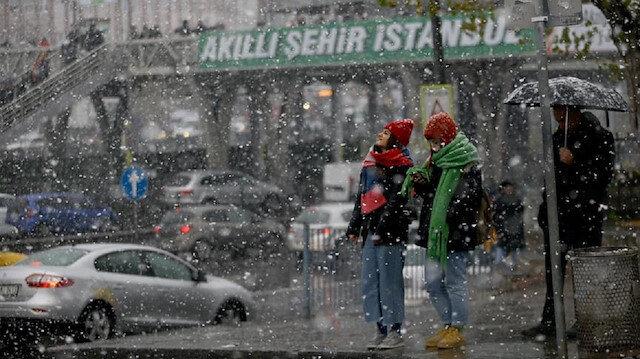 İstanbul için kar uyarısı: Perşembe günü yağması bekleniyor