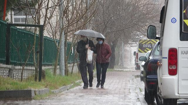 Meteorolojiden Kıyı Ege'de 5 il için kuvvetli yağış uyarısı