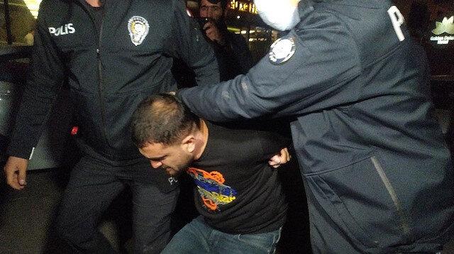 Polisin gözü önünde ateş açıp kaçan şüpheliler iki kilometrelik kovalamaca sonrası yakalandı