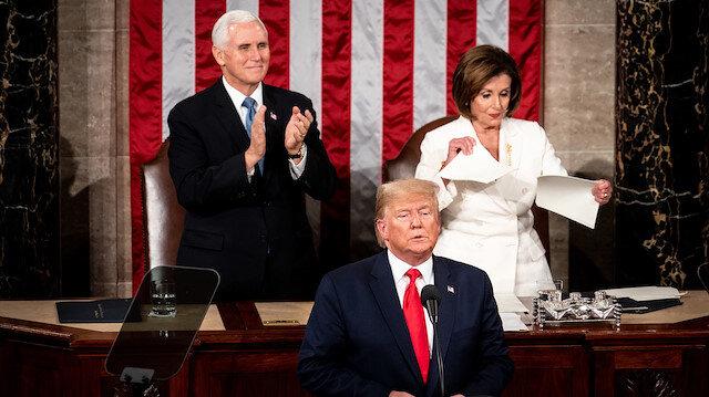 ABD Temsilciler Meclisi Başkanı: Trump görevden alınmazsa azil sürecine başlıyoruz