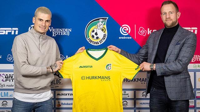 Kasımpaşalı futbolcu Fortuna Sittard'a transfer oldu
