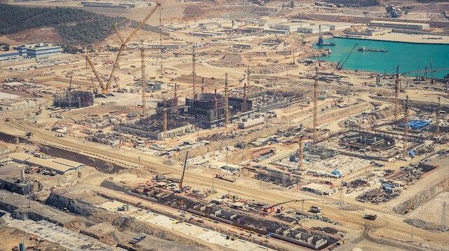 Akkuyu Nükleer Santali'nde 'çatlak' iddiasına yalanlama