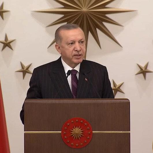 Cumhurbaşkanı Erdoğan: Türkiyenin içinde yer almadığı hiçbir denklemden Akdeniz barışı çıkmayacağı artık anlaşılmıştır