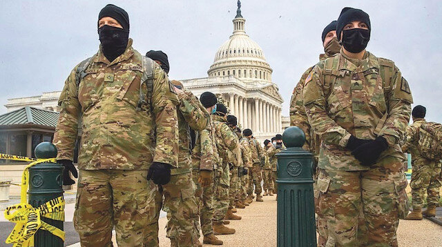 Washington DC'de acil durum