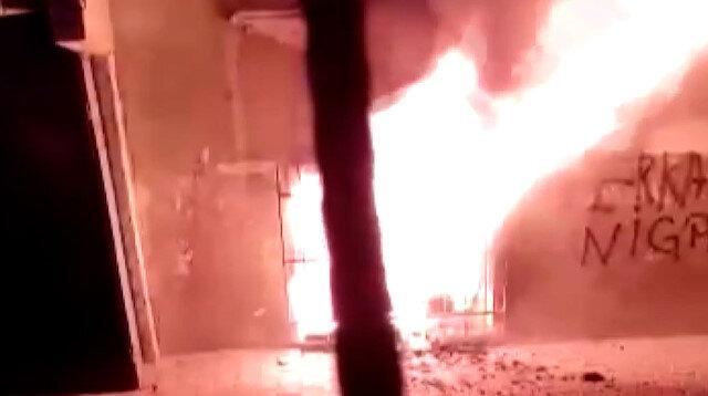 Esenler'de bodrum katta çıkan yangında iki çocuk hayatını kaybetti