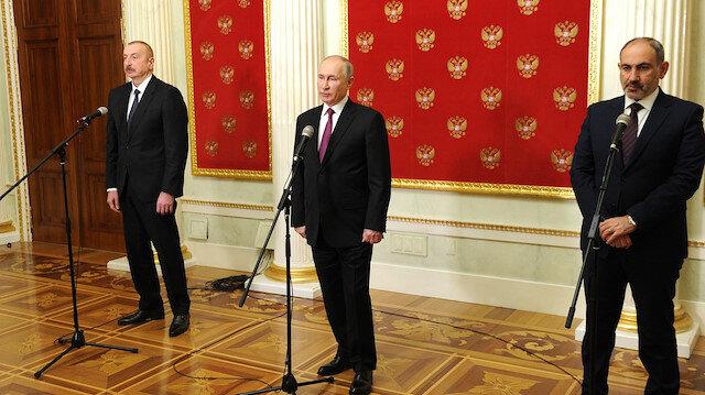 Moskova'daki üçlü zirve Rus basınında: Paşinyan ile baş etmek zor olmadı
