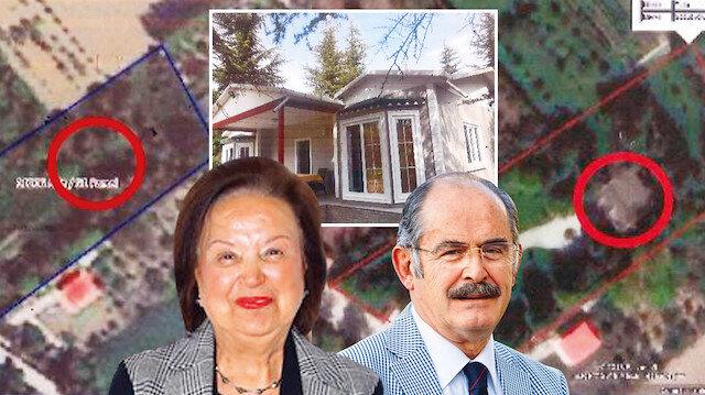 Başkan bunu yaparsa: Yılmaz Büyükerşen eşinin kaçak villası uydu görüntüsü ile belirlendi