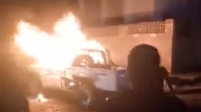 Yemen'in geçici başkenti Aden'de askeri araçta patlama
