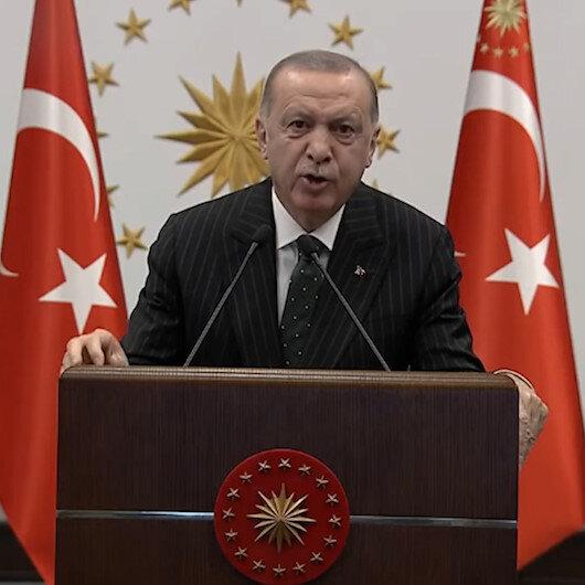 Cumhurbaşkanı Erdoğan: Kılıçdaroğlunun kürsüde ettiği her laf Allahın verdiği havayı boşa tüketmektir