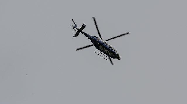 Beykoz'da helikopter düştüğü iddiası ekipleri alarma geçirdi