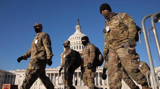 Joe Biden'ın yemin töreni için kırmızı alarm: Ulusal Muhafızlar devrede