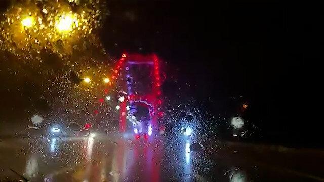 İstanbul Valisi Yerlikaya'dan yağmur paylaşımı: Her bir damlan için şükürler olsun