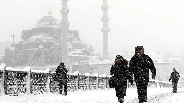 İstanbul'a çifte uyarı: Hafta sonu yoğun kar yağışı bekleniyor