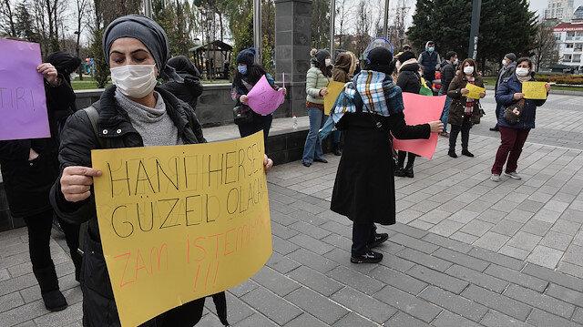 CHP'li Esenyurt Belediyesi'nin kreş zammına kadınlardan protesto