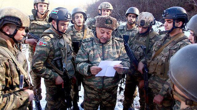 Samsunlu öğrencileri Azerbaycan askerlerine moral mektubu: Sizin gibi kahraman asker yetiştiren annelerin ellerinden öpüyoruz