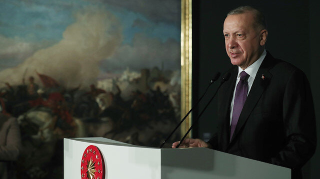 Cumhurbaşkanı Erdoğan finans dünyasına seslendi:  Bana yüksek faizle değil yatırımla gelin