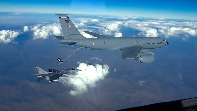 MSB paylaştı: Teröristle Mücadele Harekatı Destekleme uçuşu gerçekleştirildi