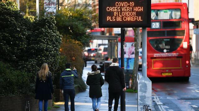 İngiltere'ye tüm giriş çıkışlar kapatılıyor