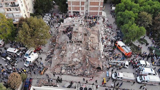 İzmir depreminde yıkılan binaların zemin etütleri yapılmamış