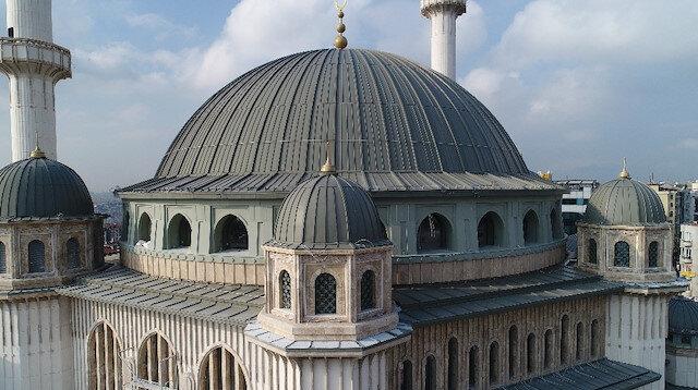 Taksim Camii ramazan ayında ibadete hazır olacak